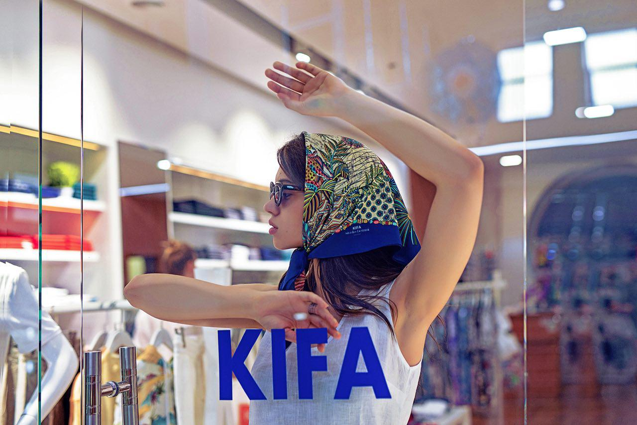 "Workshop ""Carré scarf by KIFA: technique of style and symbol of elegance"""