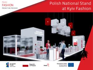 Польський національний стенд на виставці Kyiv Fashion 2021