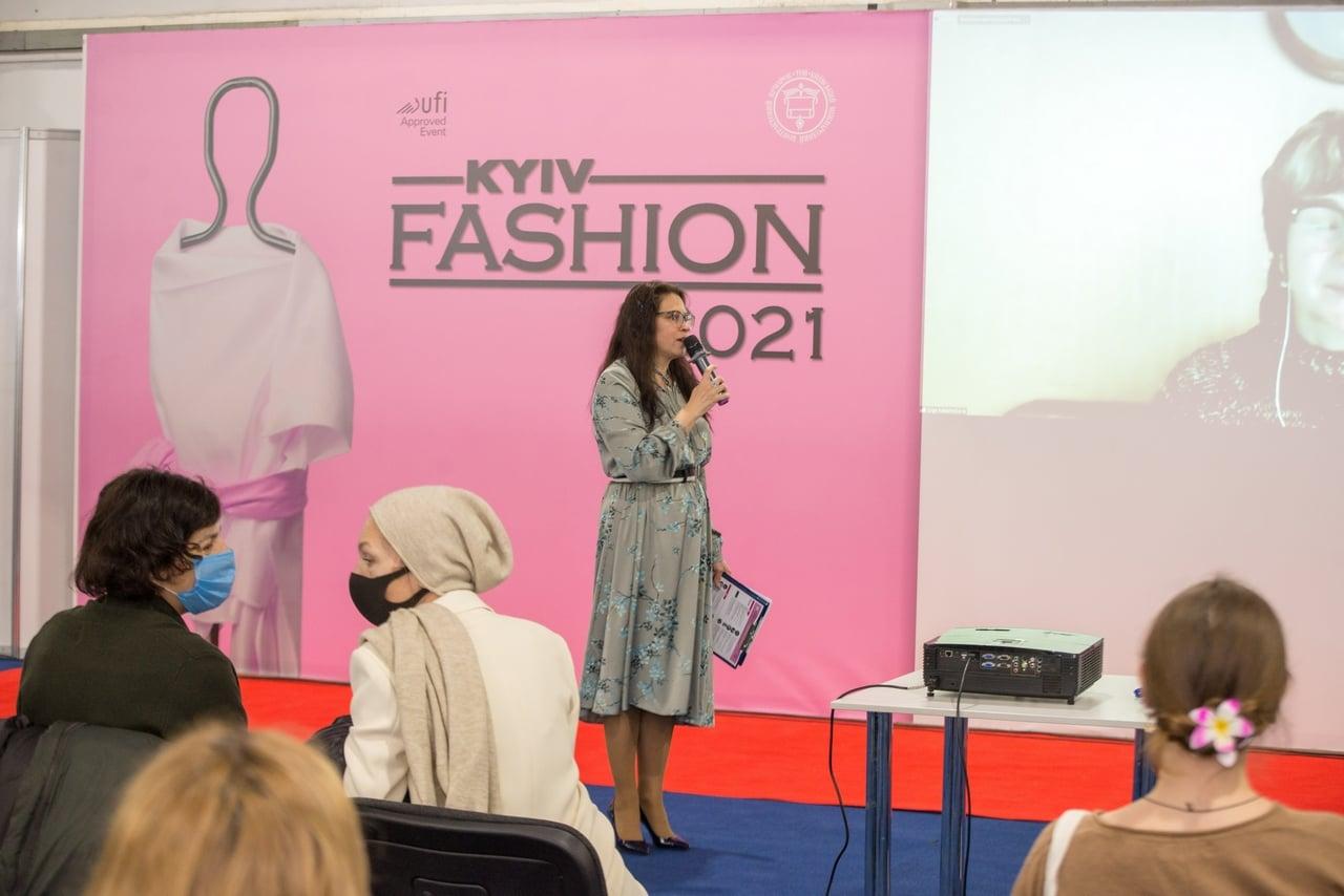Традиційно на Kyiv Fashion відбулася лекція постійної гості фестивалю, амбіційної та харизматичної Ольги Калашникової!